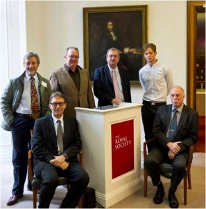Speakers of the AMDEA Food Waste Disposer Roundtable at the Royal Society.